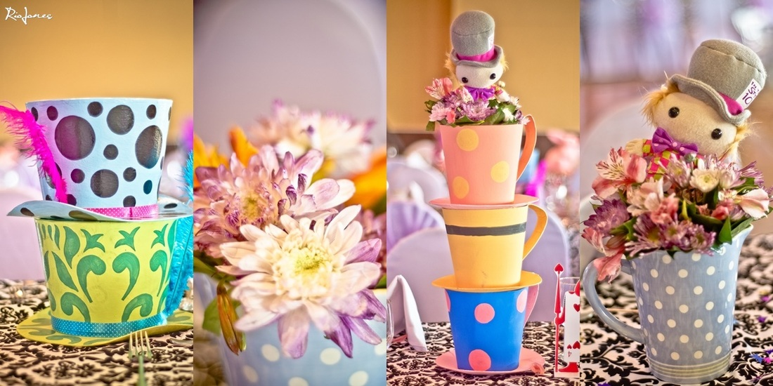 Alice in Wonderland Centerpieces